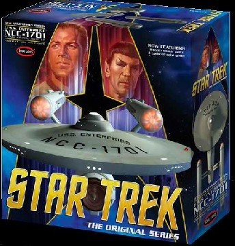 Polar Lights Model - 1/350 Star Trek The Original Series Enterprise NCC-1701 50th Anniversary Edition Model Kit