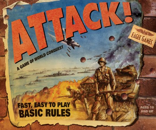 Attack Board Game (Attack! By Eagle Games)