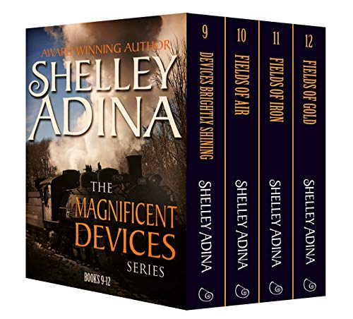 (Magnificent Devices Books 9-12: Four steampunk adventure novels in one set (Magnificent Devices Boxset Book)