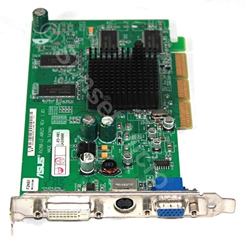 Genuine Asus ATI Radeon 9200 PCI 128MB AGP Video Card RV280 LE A062S