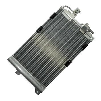 1x Condensador, Aire acondicionado con secador de cartucho integrado OPEL ASTRA G CABRIO +CARAVAN
