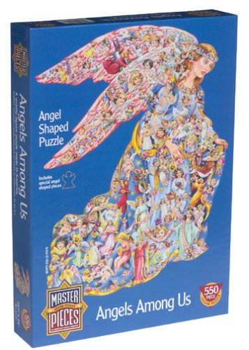 Angels Puzzle - Angels Among Us Jigsaw Puzzle 550pc