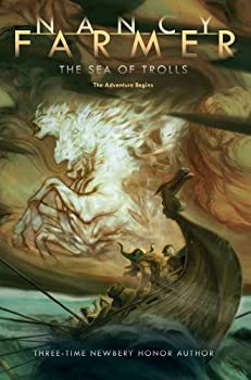 The Sea of Trolls 1481443089 Book Cover