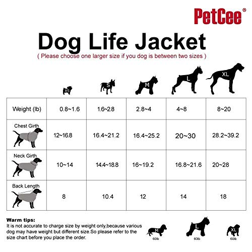 Image of Funny Dog Life Jacket Quick Release Easy-Fit Adjustable Life Jackets for Small Dogs (Pink, S)