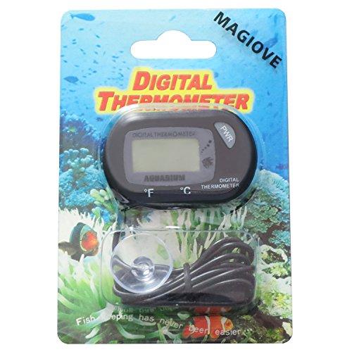 MAGIOVE® Digital Aquarium Thermometer for Hydroponics Aquarium Fish Tank Vivarium Reptile Terrarium by MAGIOVE (Image #1)