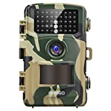 #3: AKASO 14MP Trail Camera Night Vision 1080P Hunting Camera IP66 Waterproof Game Camera 120 Degree Wide Angle with 2.4 Inch LCD- Loop Recording