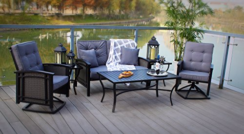 Vintage Elegance Providence 4 Piece Patio Conversation Set With Uv Protection Will Fit In