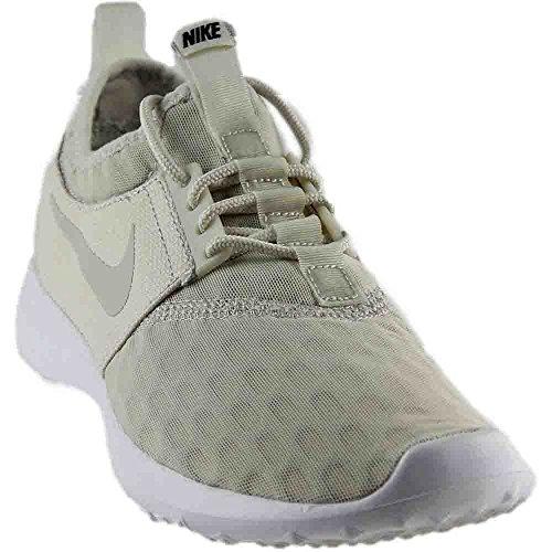 NIKE Women's Juvenate Sneaker, Light Bone/Light Bone/Black/White, 6.5 B(M) US (Nike Track Shoes Women)