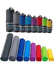 Fit-Flip Mikrofaser Handtuch – in Allen Farben, 8 Größen – kompakt, Ultra leicht & schnelltrocknend – Microfaser Handtücher – das perfekte Sporthandtuch, Strandhandtuch und Reisehandtuch