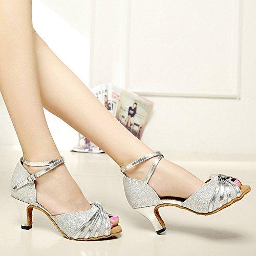 Wealsex de Sat Zapatos de Baile Zapatos Latinos r5rwqBS