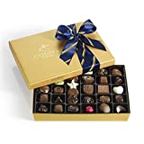 godiva chocolate - Godiva Chocolatier Assorted Chocolate Gold Gift Box, Striped Ribbon, Great Gift, Father's Day Gift, 36 Count