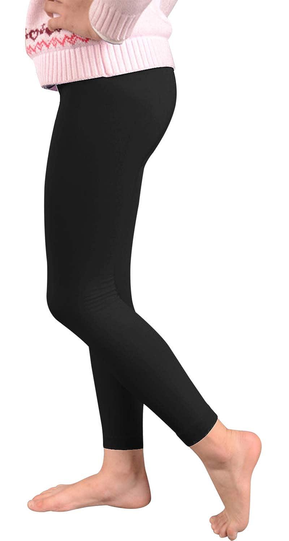 Rera Girls Knit Cotton School Uniform Legging 3 Pack