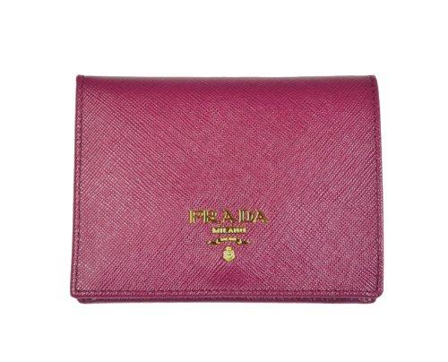 1fc3ee07bece ... inexpensive amazon prada saffiano leather bi fold wallet ametista  1m0204 shoes b12b5 b0c6b