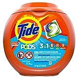Tide PODS Liquid Laundry Detergent Pacs, Clean Breeze, 57 count