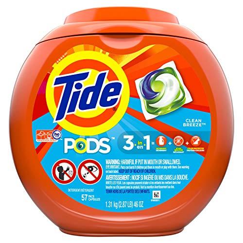 Tide Pods Laundry Detergent, Ocean Mist, 57 - Mist Scent Ocean