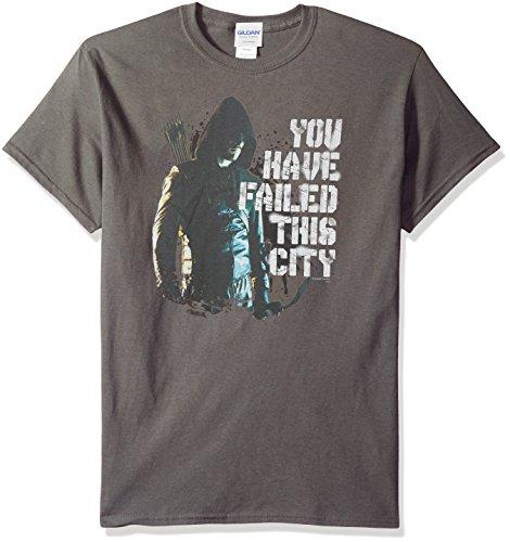 DC Comics Men's Arrow You Have Failed T-Shirt