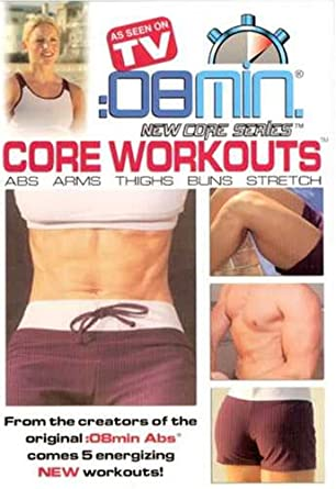 08 Min Core Workouts Abs Arms Thighs Buns And Stretch