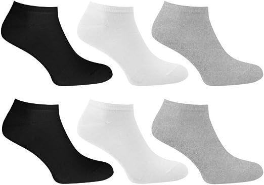 12PK Pierre Calvini Men's Trainer Socks