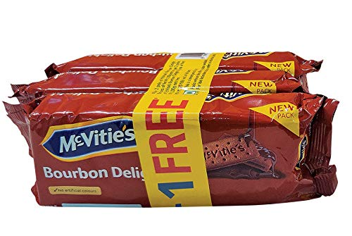 Mcvities Bourbon Combi 2+1, 300gm (Pack of 4)