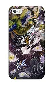 blue profile hime cutband Anime Pop Culture Hard Plastic iPhone 5/5s cases 7340998K761558396