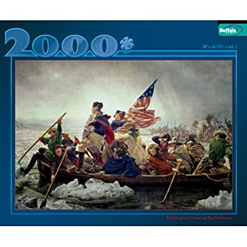 Amazon.com: Washington Crossing the Delaware 2000 PC Puzzle: Toys ...