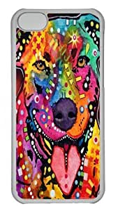 iPhone 5C Case and Cover - happy bull Custom PC Hard Case Cover for iPhone 5C Transparent