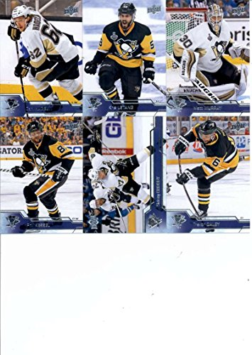 2016-17 Upper Deck Series 1 amp; 2 Pittsburgh Penguins Team Set of 13 Cards: Carl Hagelin(#142), Kris L (Penguins Upper Deck)