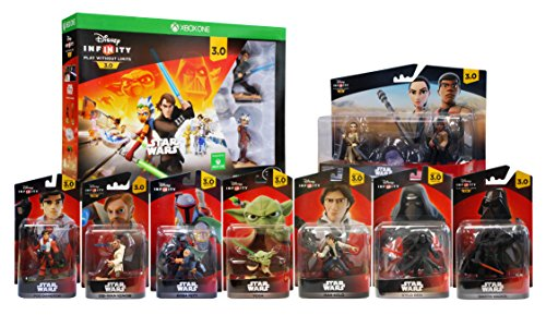Disney Infinity 3.0 - Star Wars Ultimate Gift Bundle 9-Pack (Xbox One) by Disney Infinity