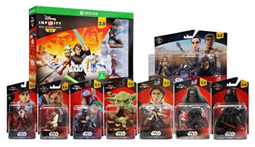 Disney Infinity 3.0 - Star Wars Ultimate Gift Bundle 9-Pack (Xbox One) by Disney Infinity