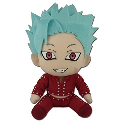 Great Eastern Entertainment The Seven Deadly Sins Ban Sitting Pose Plush 7': Toys & Games