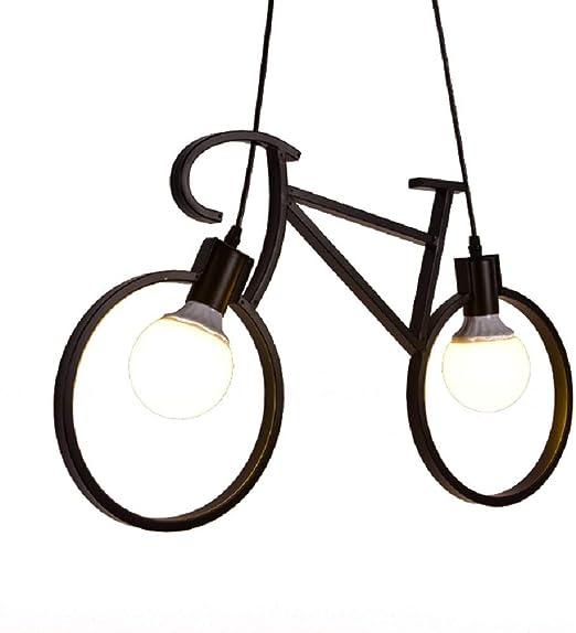 ZQY Caño de Agua de la Bicicleta de la lámpara Decorativa luz ...
