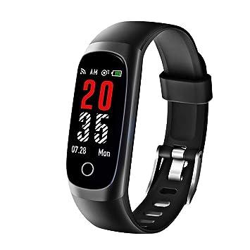 5e89ff6072 Amazon | 【最新版】 itDEAL スマートウォッチ 血圧計 心拍計 歩数計 高 ...