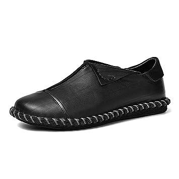 YAN Zapatos para Hombre Nuevos Mocasines de Cuero para mocasín Mocasines para Conducir Mocasines para Botes Zapatos para Caminar Casuales/Diarios: ...