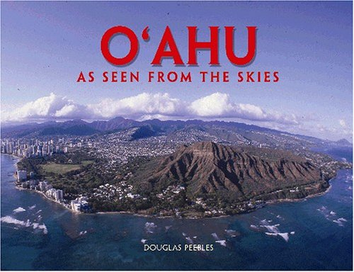 Oahu as Seen from the Skies (Map Photography Aerial)