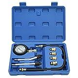 8milelake Automotive Petrol Engine Gas Engine Cylinder Compression Tester Gauge Kit