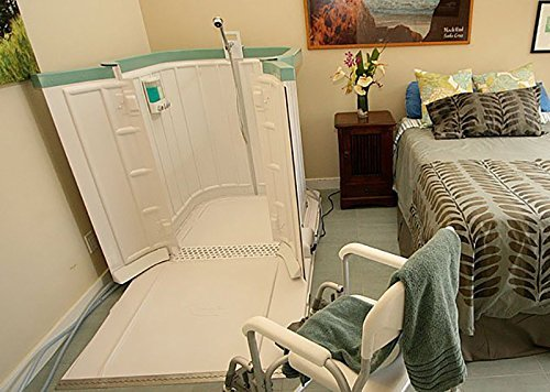 Shower Bay Portable Wheelchair Shower