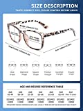 CCVOO 5 Pack Reading Glasses Blue Light