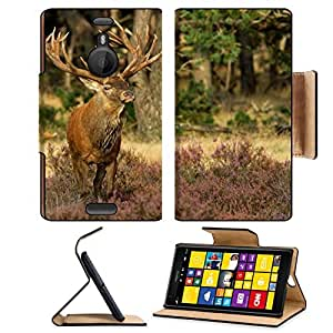 Animals Deer Stag Buck Wild Nokia Lumia Flip Case Stand Magnetic Cover Open Ports Customized Made to Order Support Ready Premium Deluxe Pu Leather MSD cover Professional Cases Accessories Graphic Background Covers Designed Model Folio Sleeve HD Template D