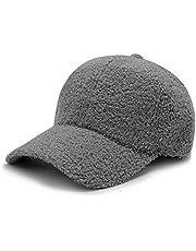 DOBAE Women Winter Visor Hat - Womens Wool Newsboy Cap, Womens Cap with Velcro Adjustable Hat Vintage Baseball Snow Ski Caps
