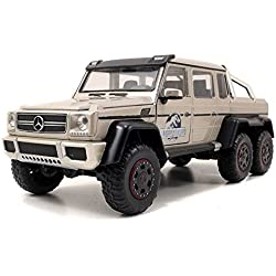 Jada Toys Jurassic World Mercedes G-Wagon 6 x 6 AMG Die Cast Vehicle (1:24 Scale)