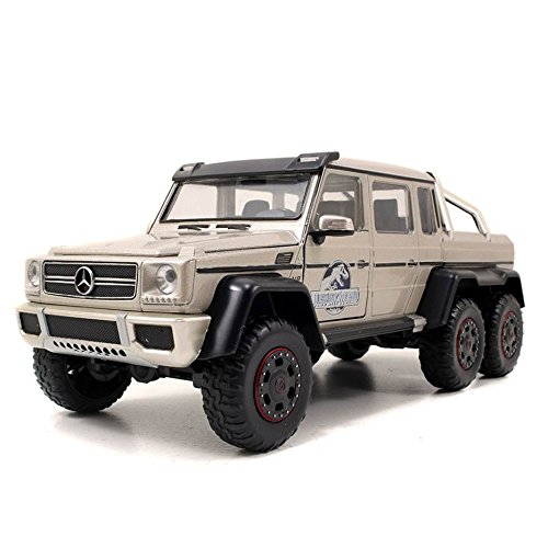 Jada Toys Jurassic World Mercedes G-Wagon 6 x 6 AMG Die Cast Vehicle (1:24 - Four Parks World