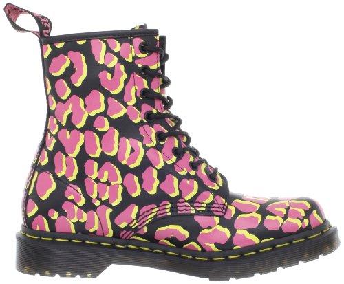 femme 1460 W Shimmer Dr Martens Boots Yellow Black Pink 5qZOSXwnxS