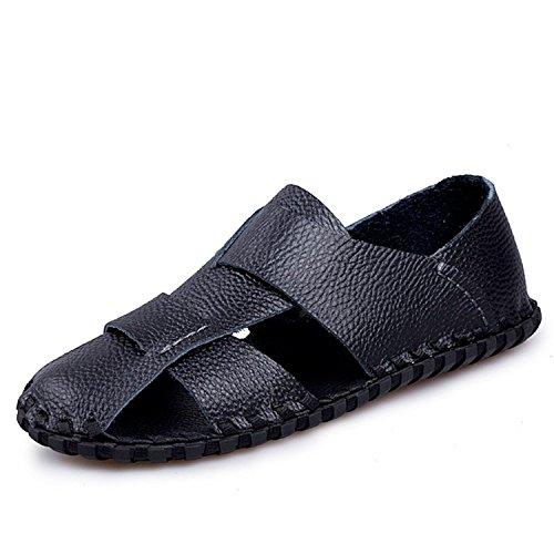 fde8df1980d3 Carolyn Jones Men Soft Leather Sadnals Quality Black Shoes on sale ...