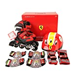 Ferrari Basic Adjustable Inline Skate White Size L