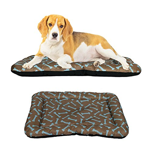 (Dog Crate Pad Bolster Bed Pet Mat Waterproof, 30