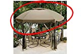 Garden Oasis Grandview Hex Gazebo Replacement Canopy For Sale
