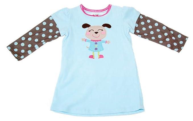 8970e91ba156 Amazon.com  Carter s Little Girls  Fleece Nightgown - Dog Polka ...