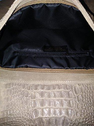 sac Taupe pompon cuir épaule raba cuir cuir porté sac de cuir long larniére courte sac sac avec SfqrPwaS