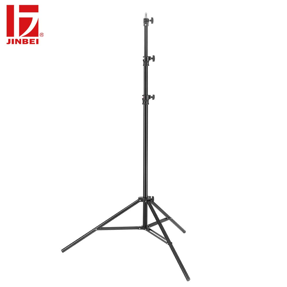 JINBEI JB-2600FP 8'6'' / 260cm Professional Quality Aluminum Adjustable, Air Cushioned Photography Light Stand for Video, Portrait and Photography Lighting by JINBEI