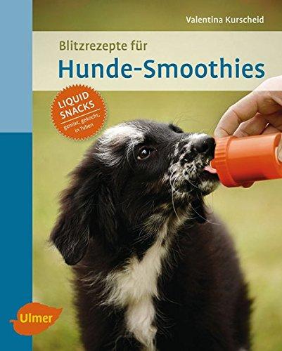 Blitzrezepte für Hunde-Smoothies: Liquid Snacks - gemixt, gekocht, in Tuben
